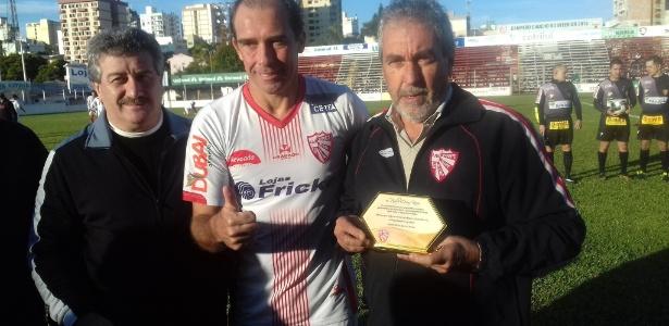 Paulo Baier se aposentou no ano passado, com homenagem no São Luiz de Ijuí-RS