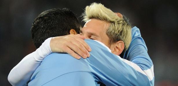 Messi jogou com dores contra o Uruguai