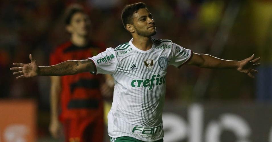 Cleiton Xavier gol Sport Palmeiras