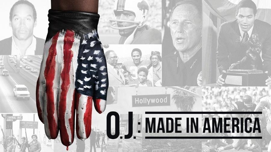 """Cartaz do filme documentário """"OJ: Made in America"""" - Divulgação"""