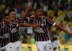 Zagueiros resolvem, Fluminense bate o Goiás e avança na Copa do Brasil (Foto: NELSON PEREZ/FLUMINENSE F.C.)