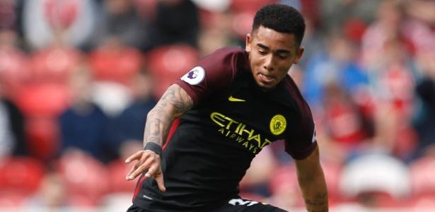 Gabriel Jesus voltou ao time do Manchester City na última semana