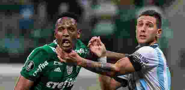 Palmeiras sofreu novo gol de bola aérea, o principal defeito do time no ano - Ale Cabral/AGIF