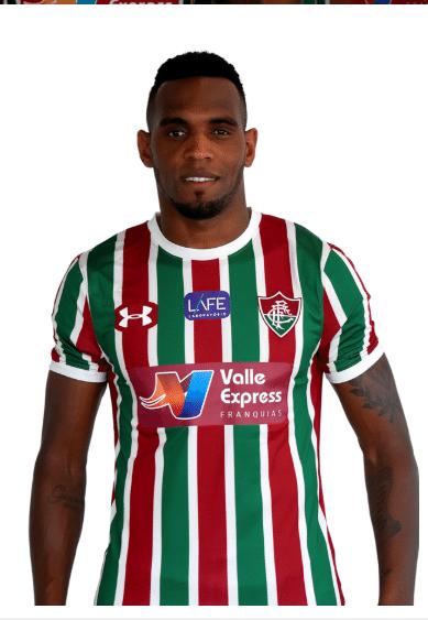 Digão, zagueiro do Fluminense