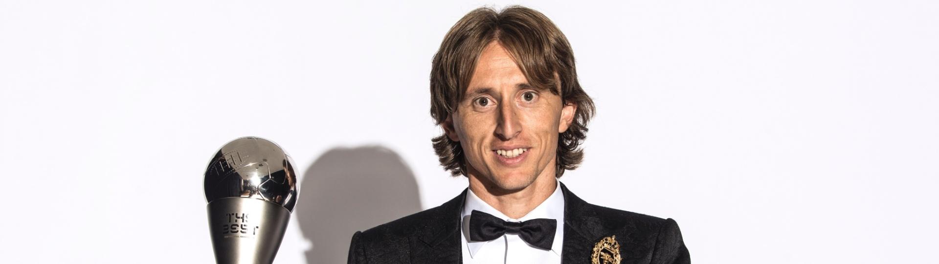 Luka Modric conquistou o prêmio