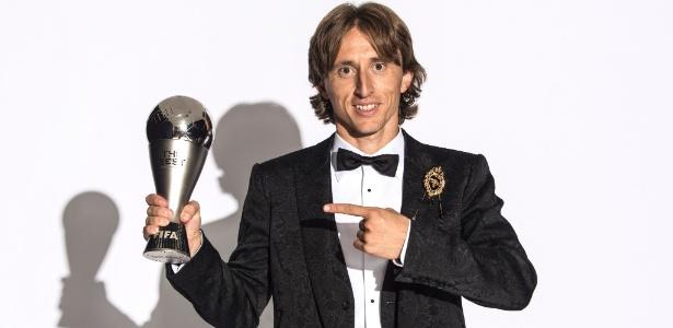 "Luka Modric conquistou o prêmio ""The Best"" da Fifa - Michael Regan - FIFA/Getty Images"