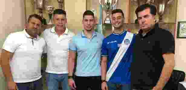 Lucas Poletto, ex-Santos e Grêmio, fechou com Apollon Larissa-GRE - Divulgação - Divulgação