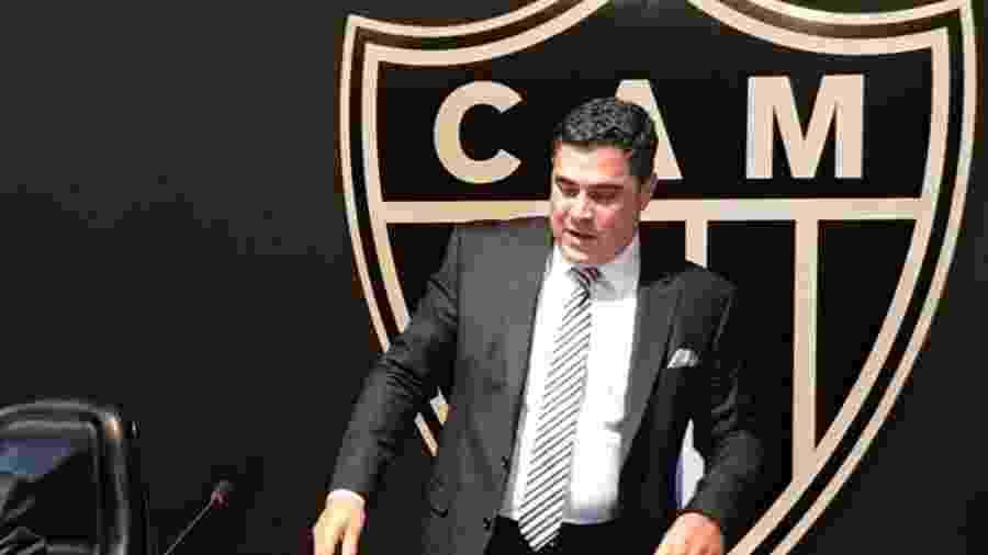 Sérgio Sette Câmara, presidente do Atlético-MG, abre os cofres do clube à procura de reforços - UOL
