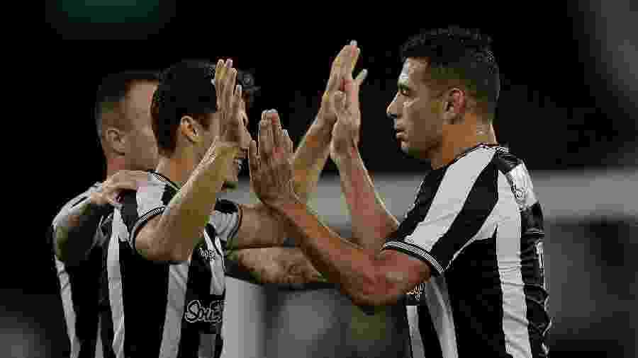Jogadores do Botafogo se reuniram e decidiram por aderir a uma greve - ALEXANDRE LOUREIRO/ELEVEN/ESTADÃO CONTEÚDO