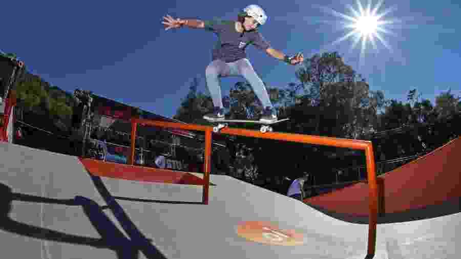 Virgínia Fortes, skatista de street da seleção brasileira - Julio Detefon/Divulgação