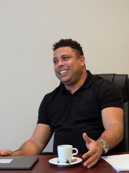 Ronaldo, em seu escritório na sede do Valladolid - Laura Leon/The New York Times