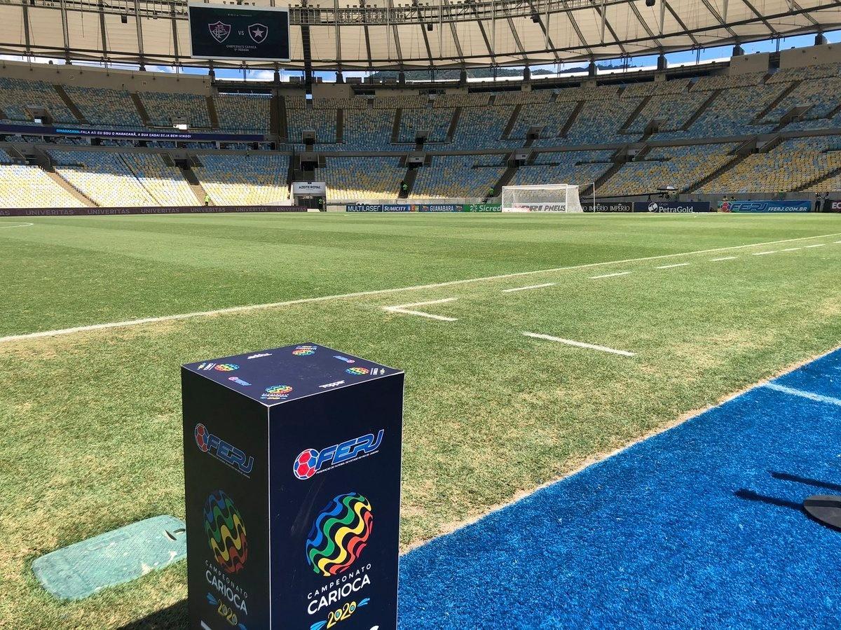 Maracanã, antes de Fluminense e Botafogo