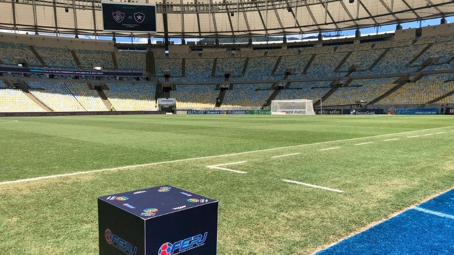 O Azeite Royal tinha contrato com o Maracanã, além dos quatro grandes clubes do Rio - Divulgação/Fluminense