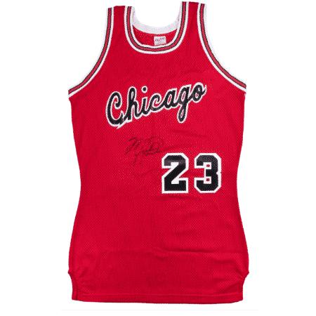 Camisa de Michael Jordan será leiloada - Divulgação