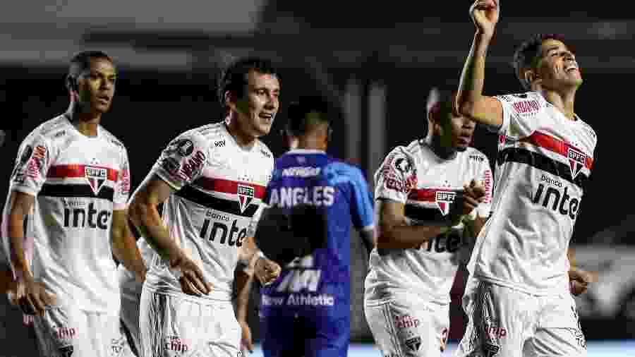São Paulo bateu o Binacional no jogo da sexta rodada do Grupo D da Libertadores - Staff Images / CONMEBOL