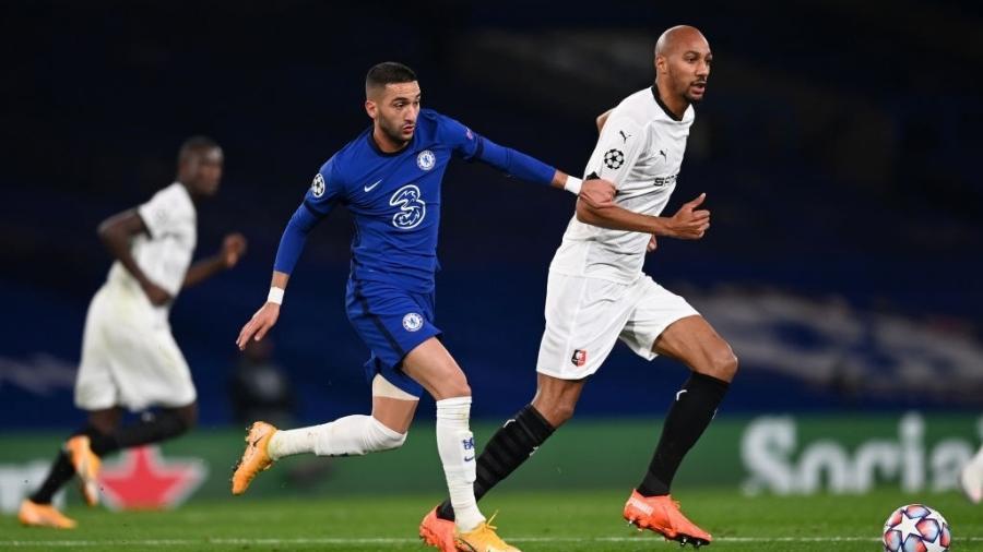 Chelsea e Rennes se enfrentam pela Liga dos Campeões - Darren Walsh/Getty Images