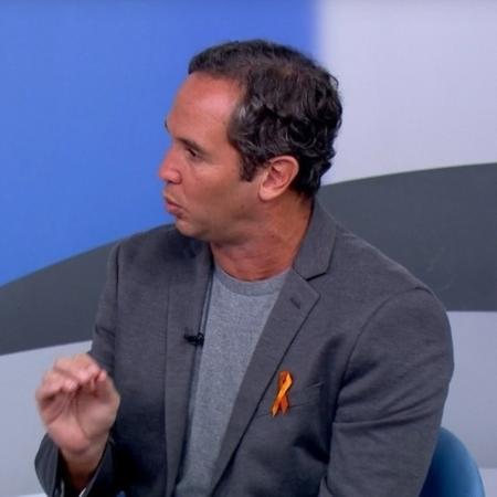 Caio Ribeiro, comentarista dos canais Gobo - Reprodução/SporTV