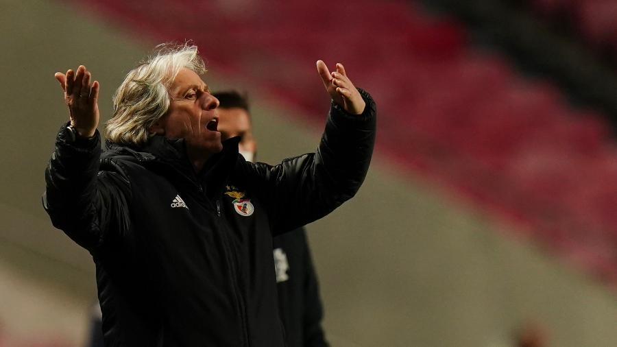 Técnico português se revoltou com a arbitagem após o clássico entre Porto e Benfica que acabou em 1 a 1 - Gualter Fatia/Getty Images