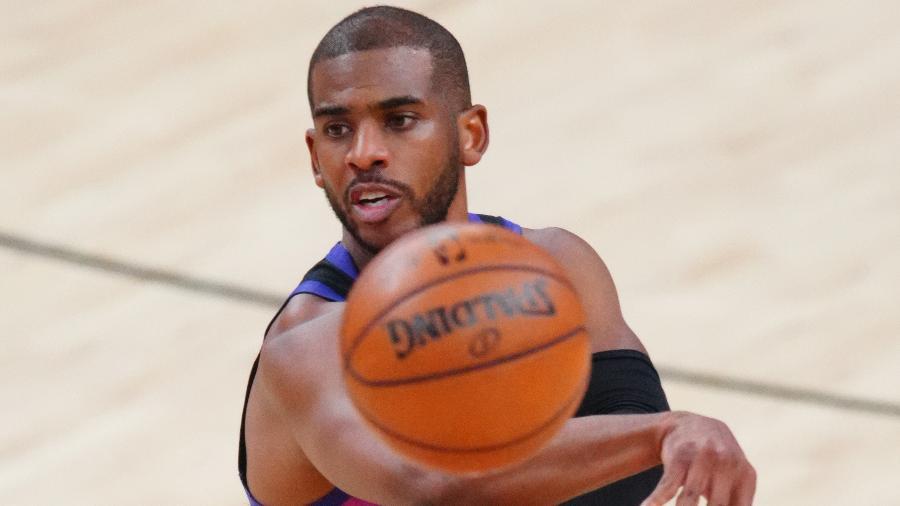 O Phoenix Suns, de Chris Paul, encara o Denver Nuggets no jogo 4 da série - Mark J. Rebilas-USA TODAY Sports