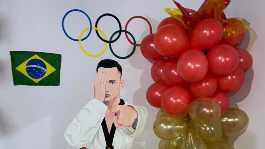 Ícaro Miguel é um dos fortes candidatos a medalha no Taekwondo em Tóquio - Arquivo Pessoal