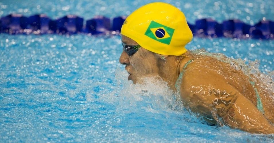Joanna Maranhão nada prova dos 400m medley nos Jogos Pan-Americanos