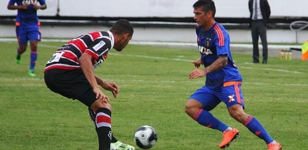 Santa Cruz e Sport ficaram no 1 a 1 em clássico no Arruda