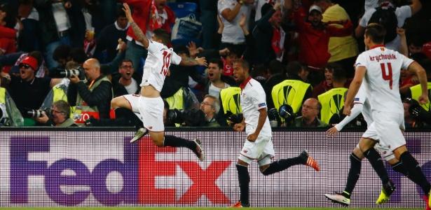 Sevilla venceu o Liverpool por 3 a 1 de virada em jogaço na Basileia nesta quarta