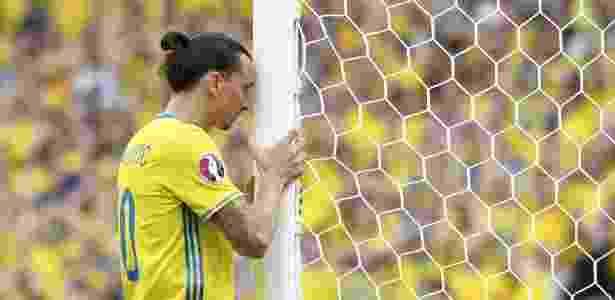Ibrahimovic na Eurocopa -  AFP PHOTO / JONATHAN NACKSTRAND -  AFP PHOTO / JONATHAN NACKSTRAND