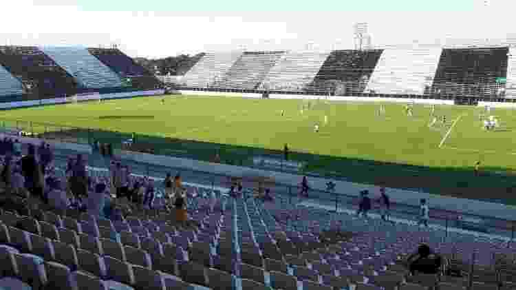Arena Botafogo foi criada para suprir ausências de Engenhão e Maracanã no Brasileiro - Bernardo Gentile/UOL - Bernardo Gentile/UOL