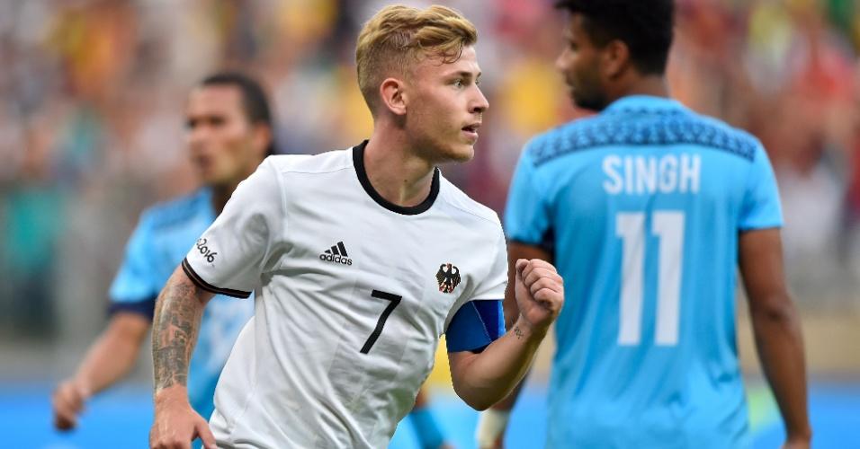 Alemães vão aplicando goleada mais uma vez no estádio do Mineirão