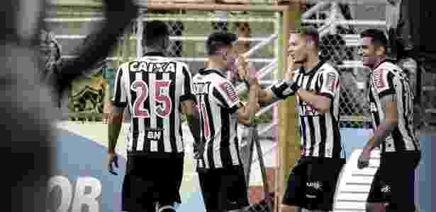 Marlone se destacou com as cores do Atlético-MG, mas não está inscrito na Libertadores - Twitter/Atlético-MG