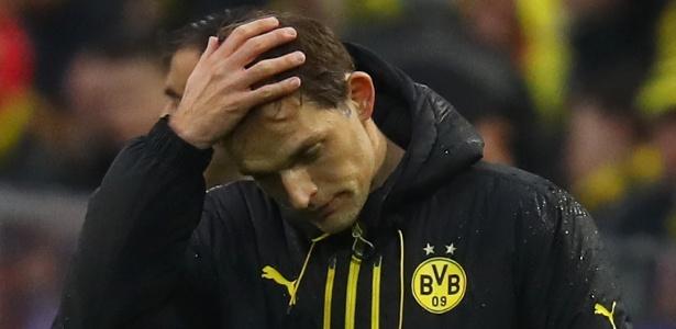 técnico Thomas Tuchel deixou o Borussia Dortmund - Reuters / Kai Pfaffenbach