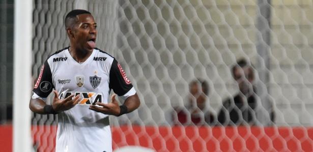 Robinho quer voltar a marcar com as cores do Atlético-MG
