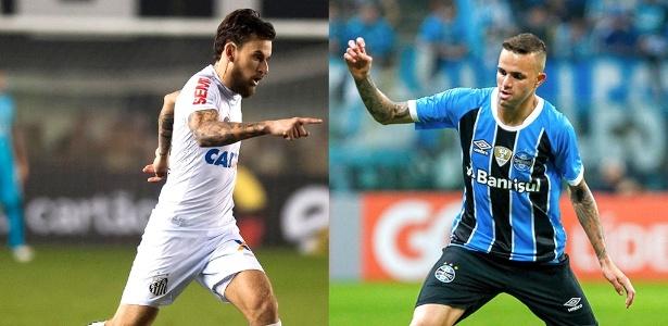 Lucas Lima e Luan devem deixar o Brasil agora ou no final desta temporada