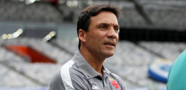 Técnico Zé Ricardo só tem apenas duas derrotas no comando do Vasco