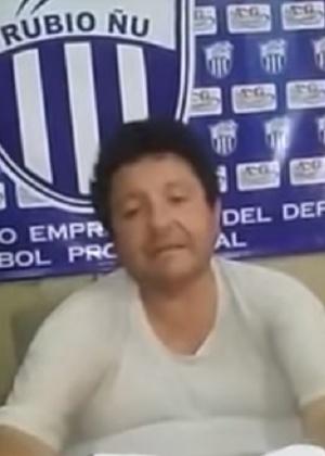 Presidente do Rubio Ñu assumiu relacionamento amoroso após ter sido chantageado