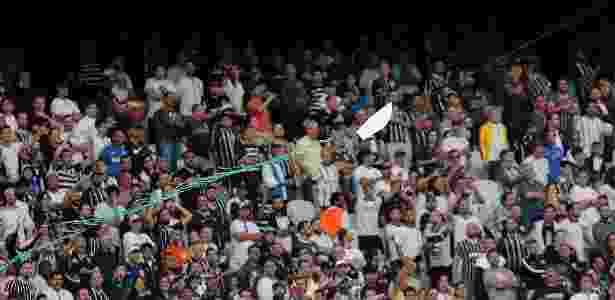 Pipa durante Corinthians x Palmeiras - Daniel Vorley/AGIF - Daniel Vorley/AGIF