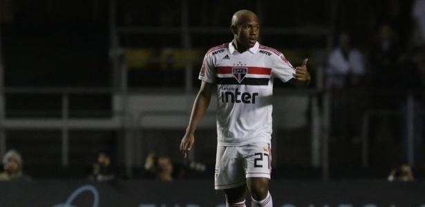 Luan teve a oportunidade de defender o São Paulo no clássico com o Corinthians - Rubens Chiri/saopaulofc.net