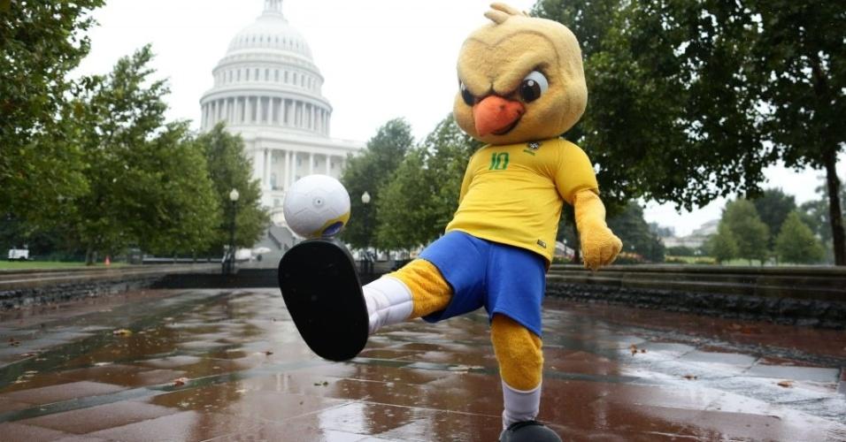Canarinho Pistola seleção brasileira Washington