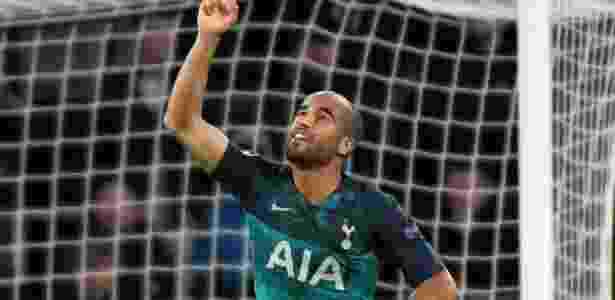 Lucas Moura quebrou longo jejum, mas o Tottenham cedeu o empate na Holanda - Piroschka van der Wouw/Reuters