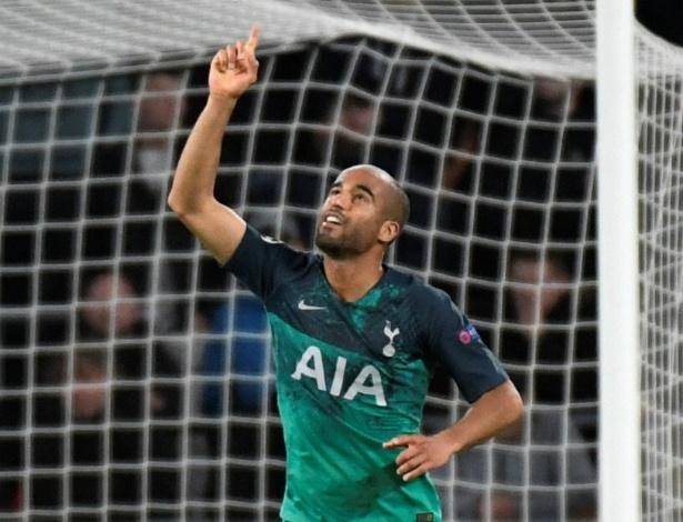 Lucas Moura quebrou longo jejum, mas o Tottenham cedeu o empate na Holanda