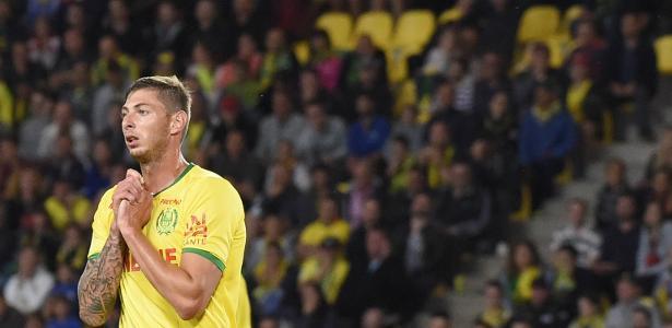 Emiliano Sala, durante partida pelo Nantes
