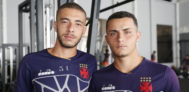Caio Lopes e Bruno Gomes: dupla de volantes de destaque do Vasco na Copinha - Rafael Ribeiro / Vasco.com.br
