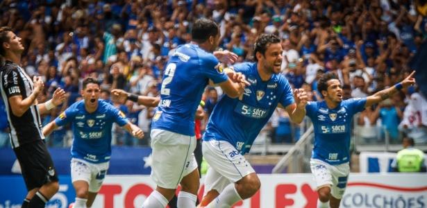 No clássico contra o Atlético-MG, Fred marcou seu primeiro gol na temporada - Vinnicius Silva/Cruzeiro