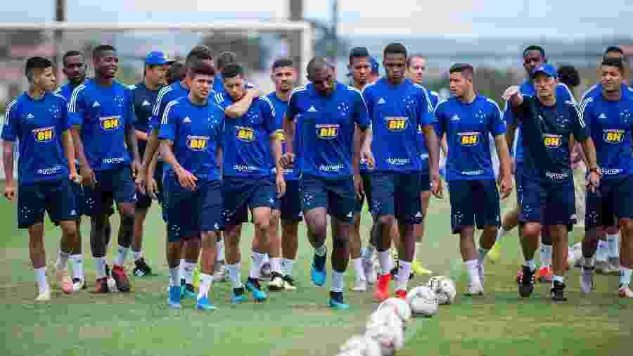 Jogadores terão férias de pelo menos 20 dias a partir do dia 1º de abril - Bruno Haddad/Cruzeiro
