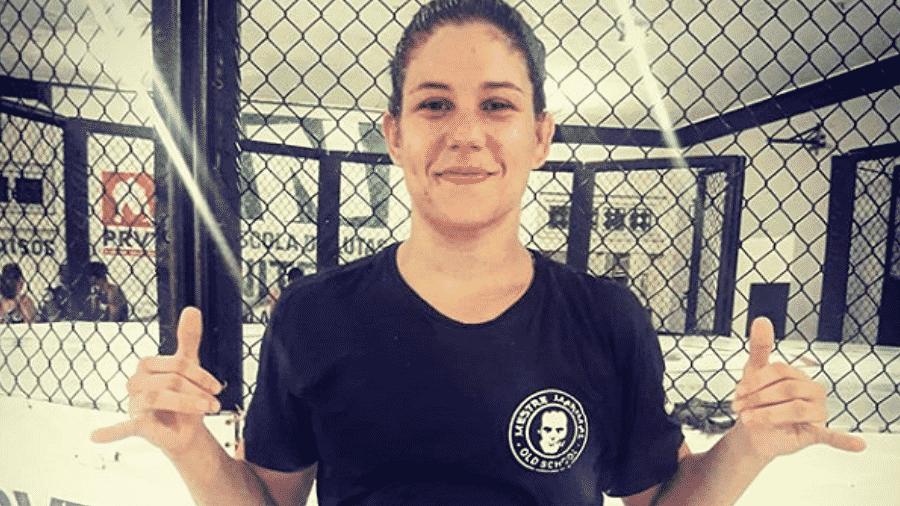 A lutadora Karol Rosa - Divulgação