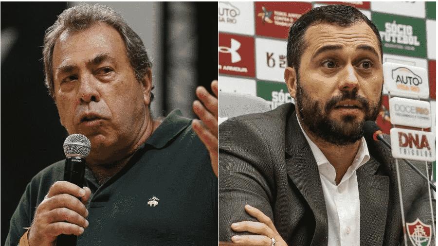Montengro e Mário lideram Botafogo e Fluminense na volta contra o futebol no Rio de Janeiro - Montagem UOL