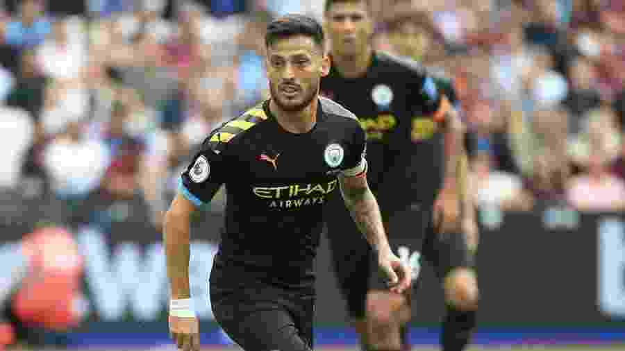 David Silva em ação pelo Manchester City. Jogador deixará o clube ao fim do contrato - Reprodução/Instagram