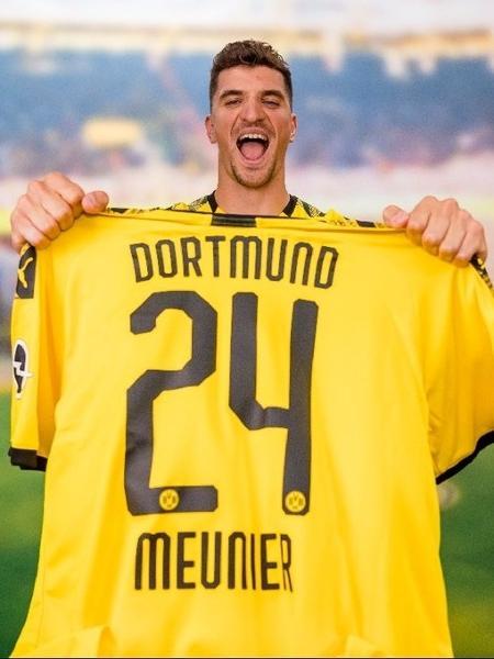 Thomas Meunier é anunciado como jogador do Borussia Dortmund - Reprodução
