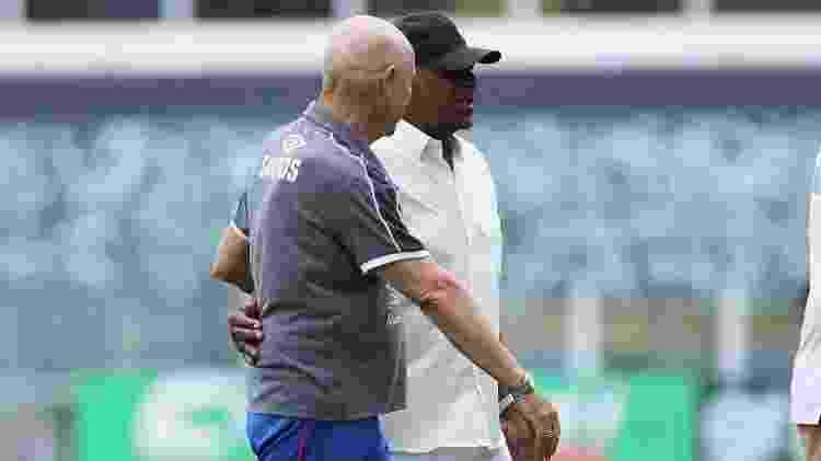 Jesualdo e Dorval - Foto: Pedro Ernesto Guerra Azevedo/Santos FC - Foto: Pedro Ernesto Guerra Azevedo/Santos FC